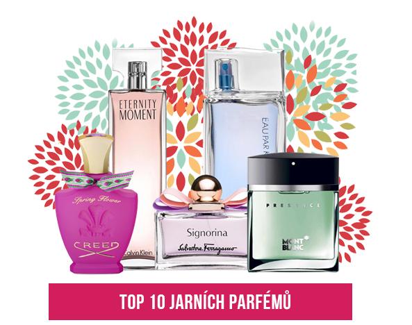 jarní parfémy