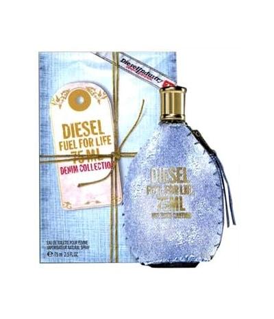 Diesel Fuel for Life Denim Collection Femme EDT tester 75 ml W