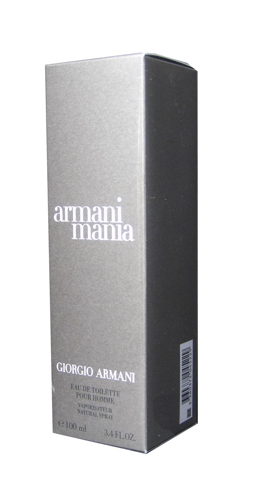 Armani Giorgio Mania pour Homme EDT 100 ml M