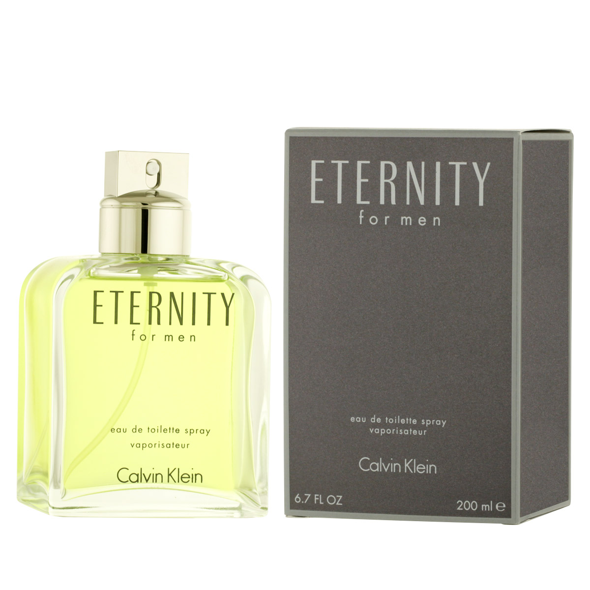 Calvin Klein Eternity for Men EDT 200 ml M