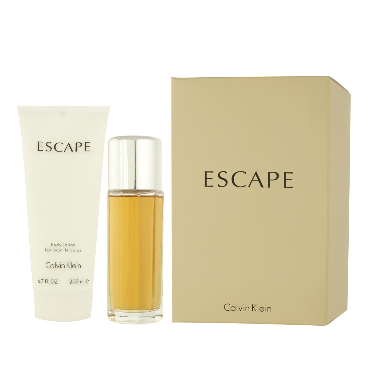 Calvin Klein Escape for Women EDP 100 ml + BL 200 ml W