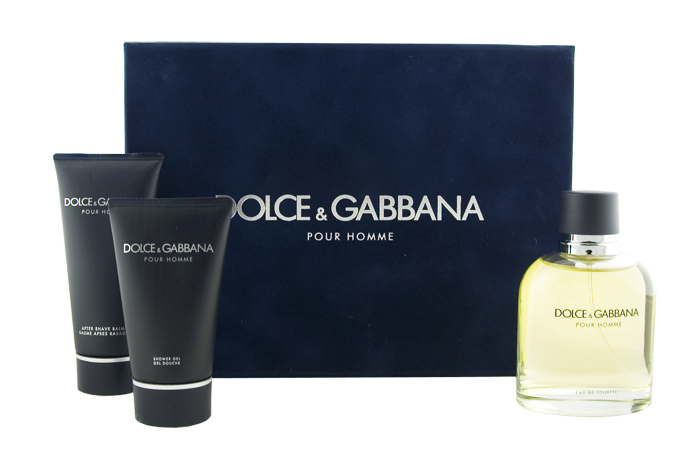 Dolce & Gabbana Pour Homme EDT 125 ml + ASB 100 ml + SG 50 ml M