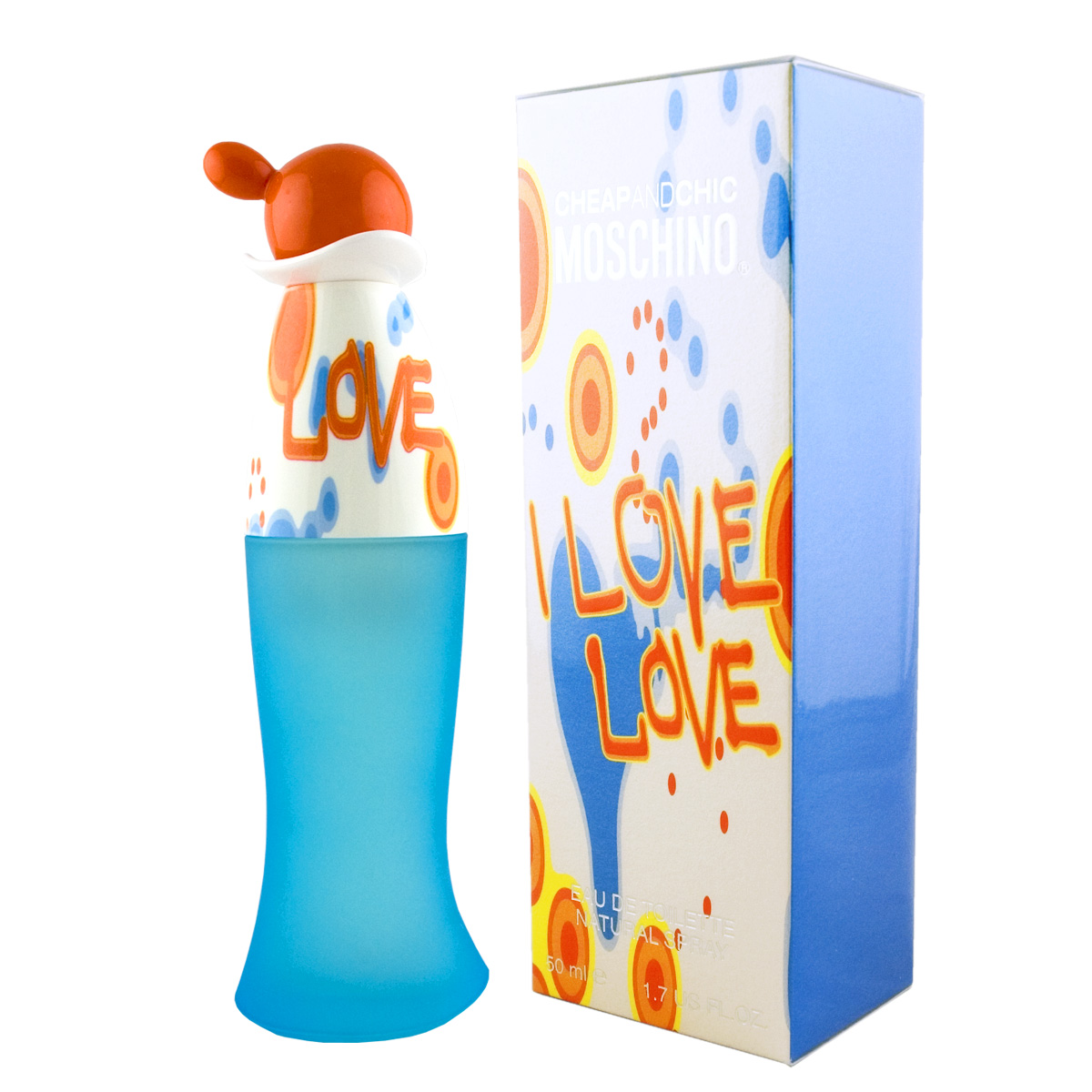 Moschino Cheap & Chic I Love Love EDT 50 ml W