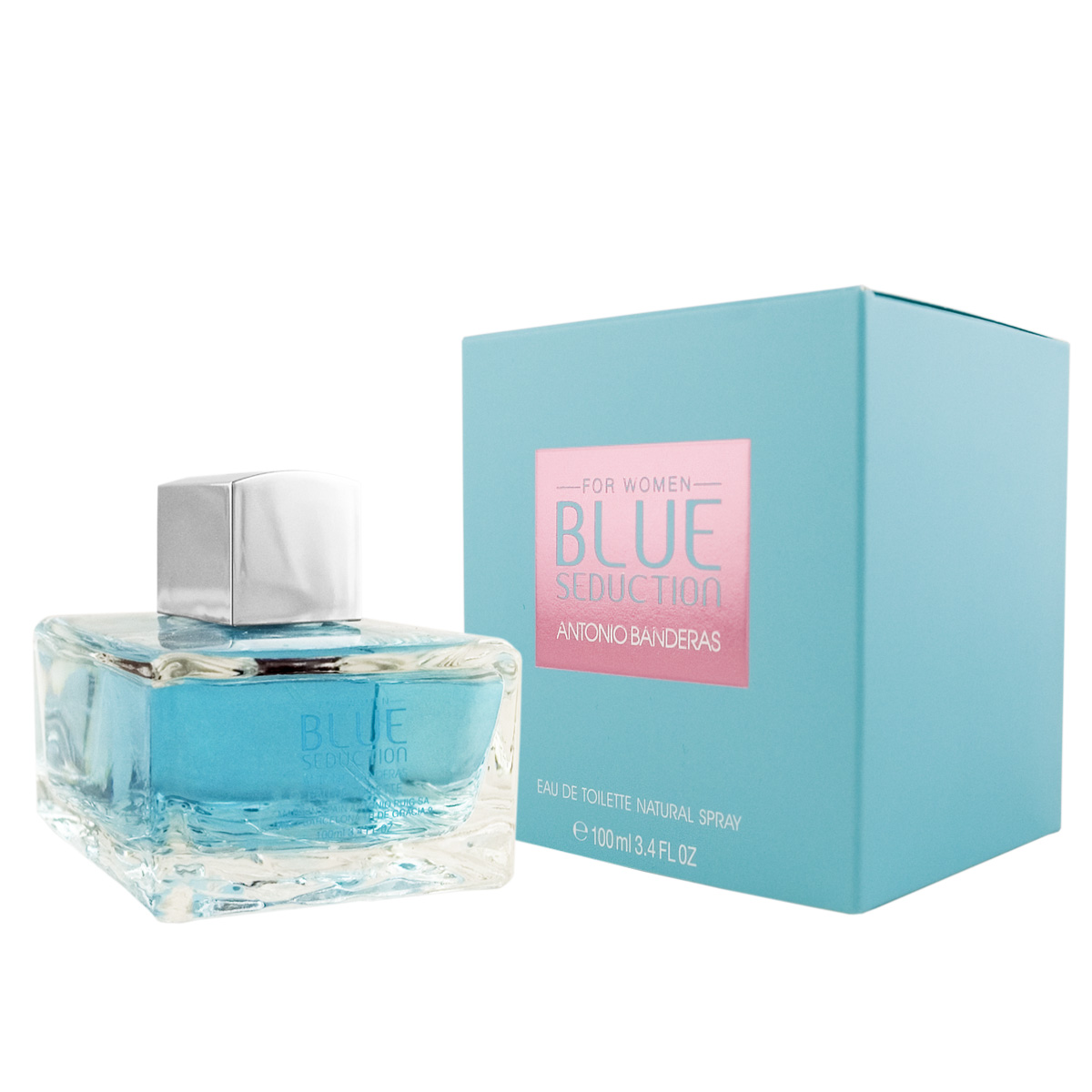 Antonio Banderas Blue Seduction for Women EDT 100 ml W