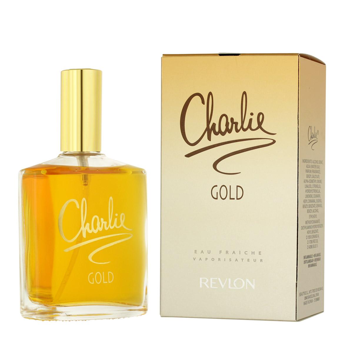 Revlon Charlie Gold Eau de Fraîche 100 ml W