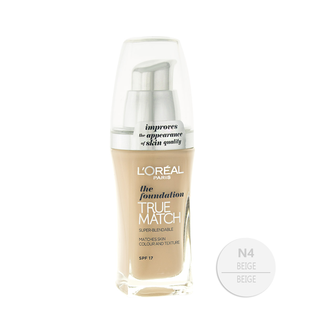 L´Oreal Paris True Match the foundation make-up (N4 Beige) 30 ml