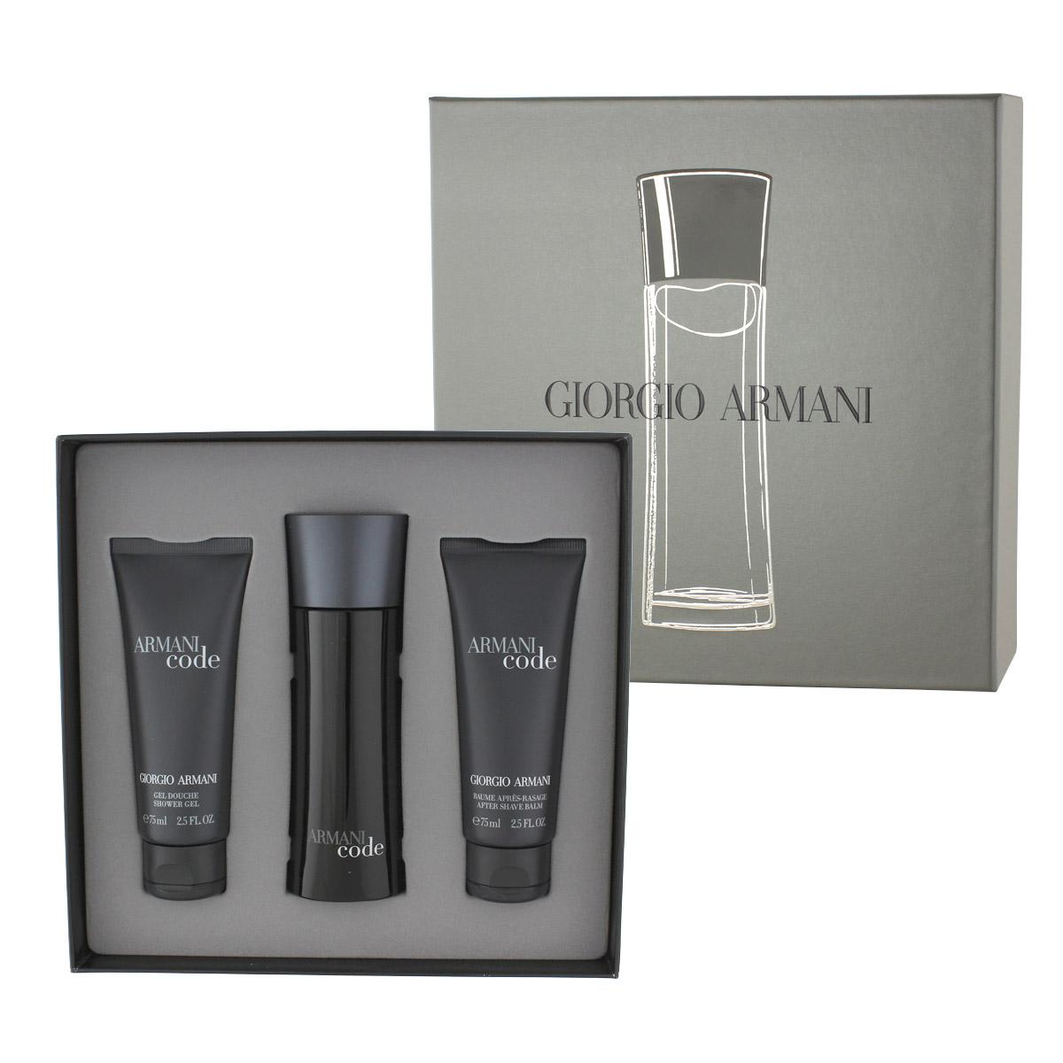 Armani Giorgio Code Homme EDT 75 ml + ASB 75 ml + SG 75 ml M