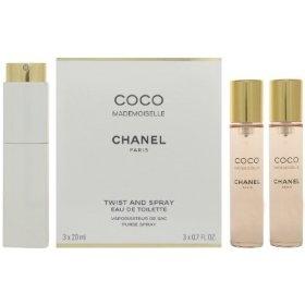 Chanel Coco Mademoiselle EDT plnitelný 20 ml + EDT náplň 2 x 20 ml W