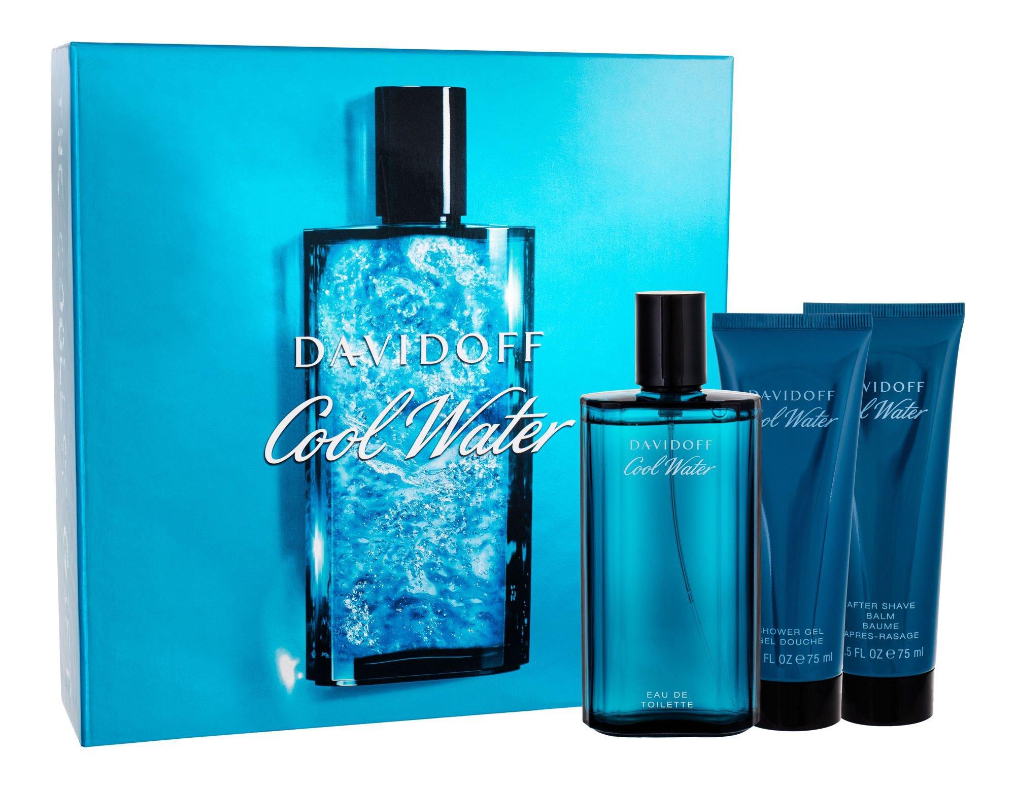 Davidoff Cool Water for Men EDT 125 ml + ASB 75 ml + SG 75 ml M