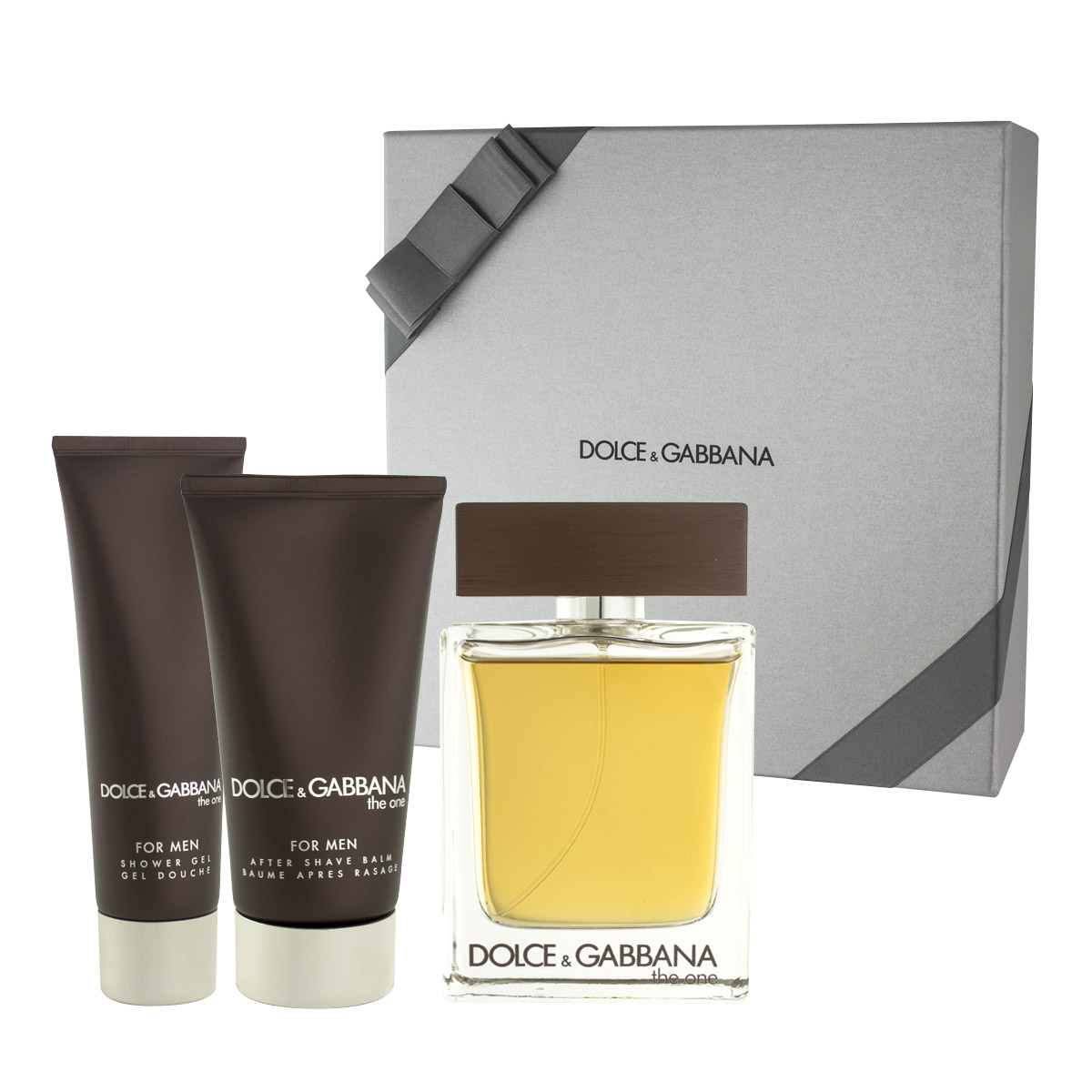 Dolce & Gabbana The One for Men EDT 100 ml + ASB 75 ml + SG 50 ml M
