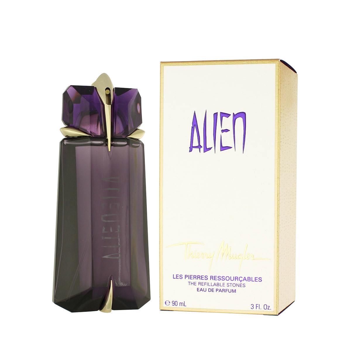 Thierry Mugler Alien EDP plnitelný rozpoužíváno (plné nad 80%) 90 ml W