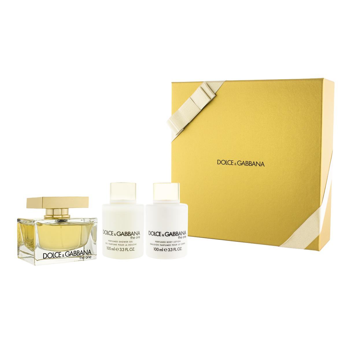 Dolce & Gabbana The One EDP 75 ml + SG 100 ml + BL 100 ml W