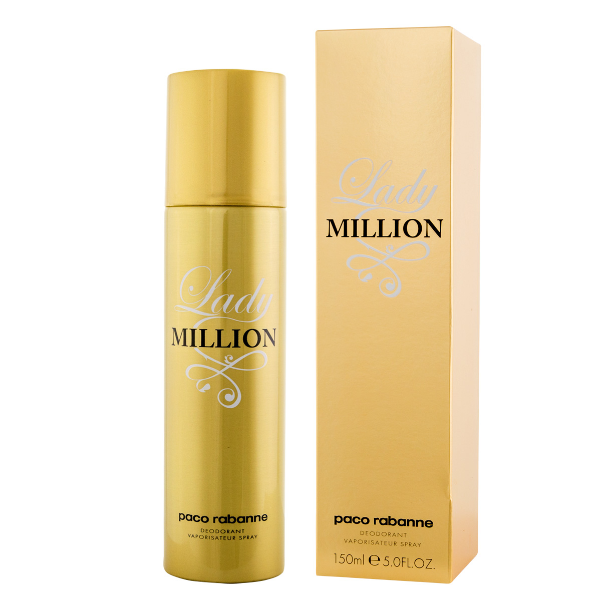 Paco Rabanne Lady Million DEO ve spreji 150 ml W