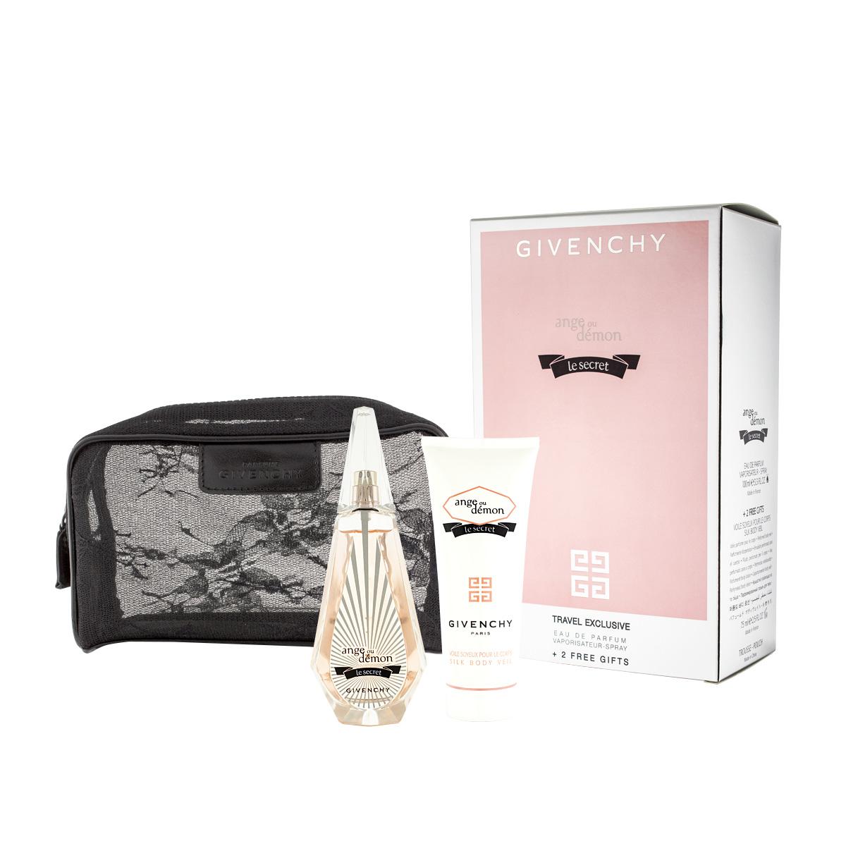 Givenchy Ange Ou Demon Le Secret EDP 100 ml + BL 75 ml + kosmetická taška W