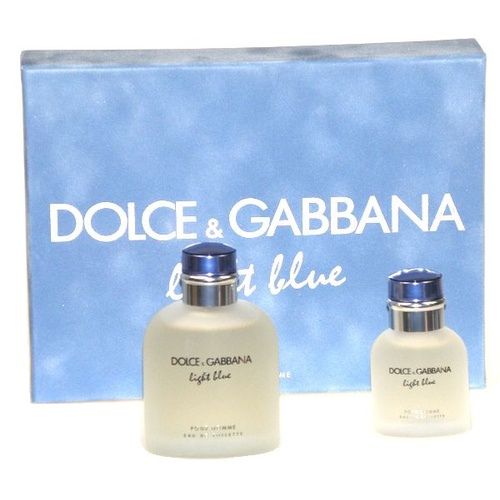 Dolce & Gabbana Light Blue pour Homme EDT 125 ml + EDT 40 ml M