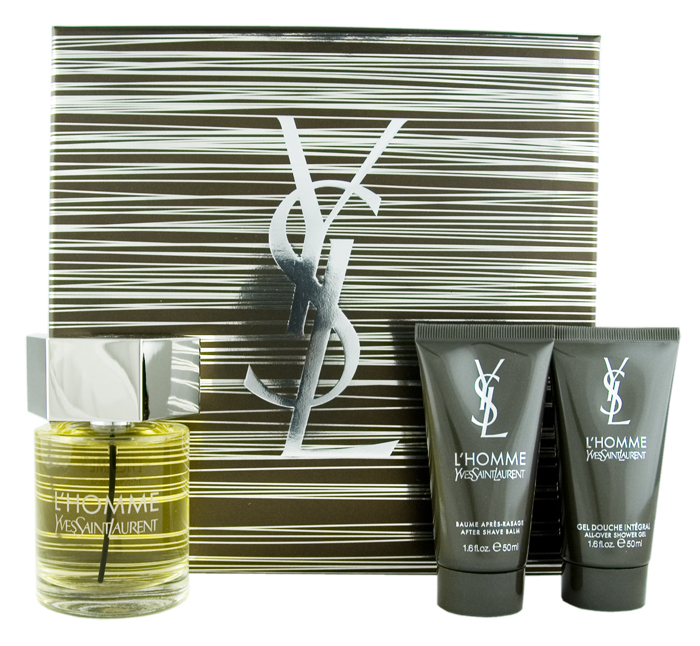 Yves Saint Laurent L'Homme EDT 100 ml + ASB 50 ml + SG 50 ml M