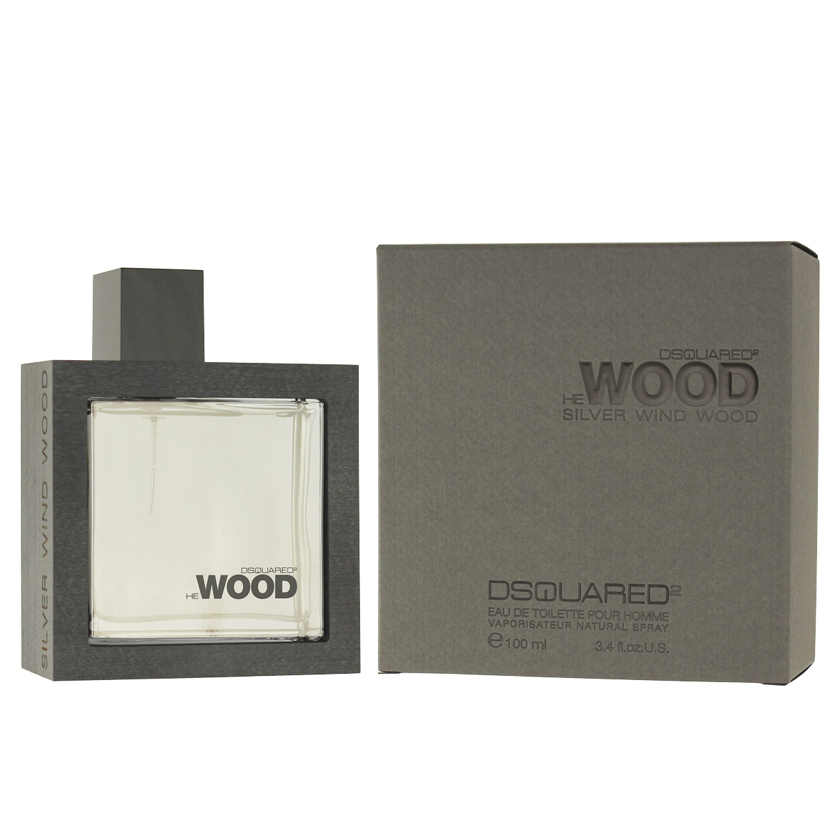 Dsquared2 He Wood Silver Wind Wood EDT 100 ml M