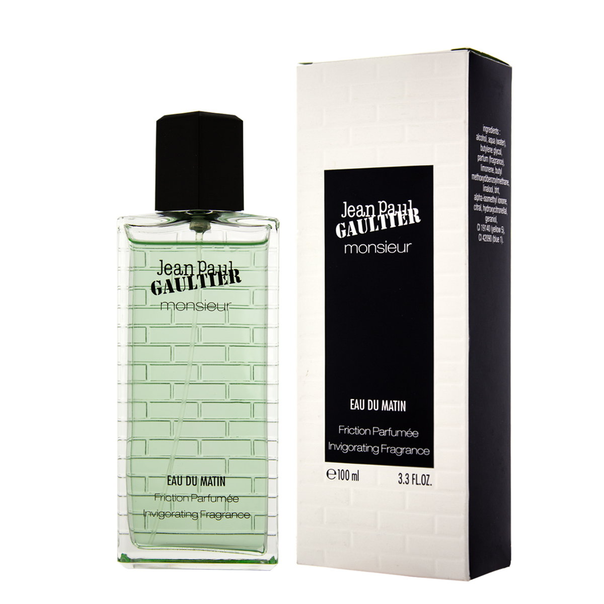Jean Paul Gaultier Monsieur Eau Du Matin EDT 100 ml M