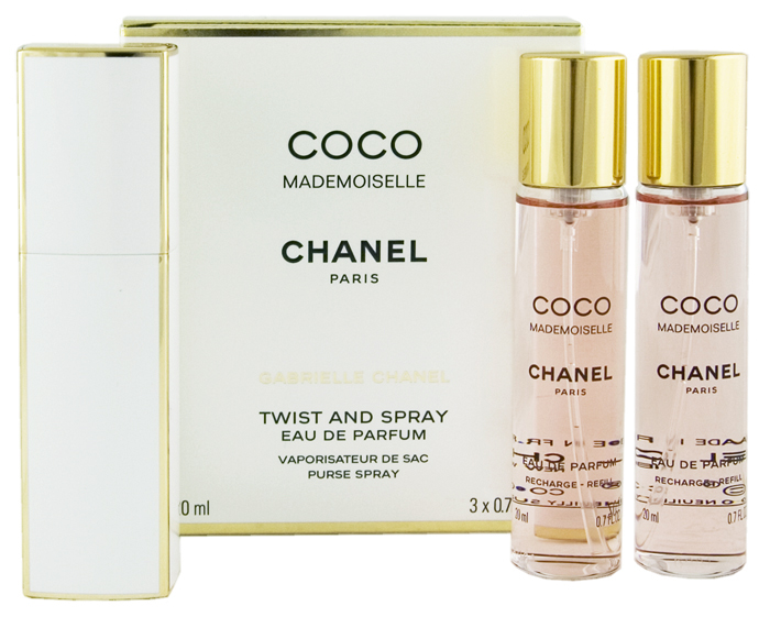 Chanel Coco Mademoiselle EDP plnitelný 20 ml + EDP náplň 2 x 20 ml W