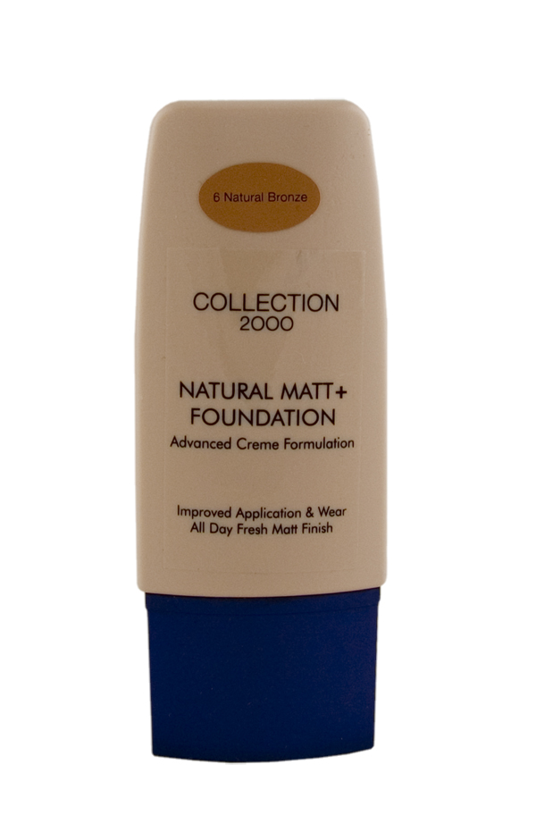 Collection 2000 natural Matt + Foundation Bronze make-up