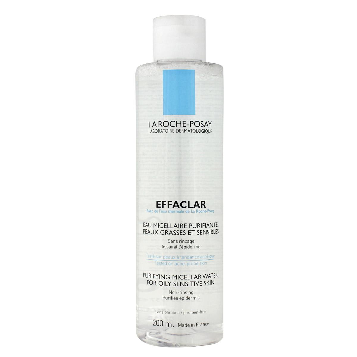 La Roche-Posay Effaclar micelární voda 200 ml