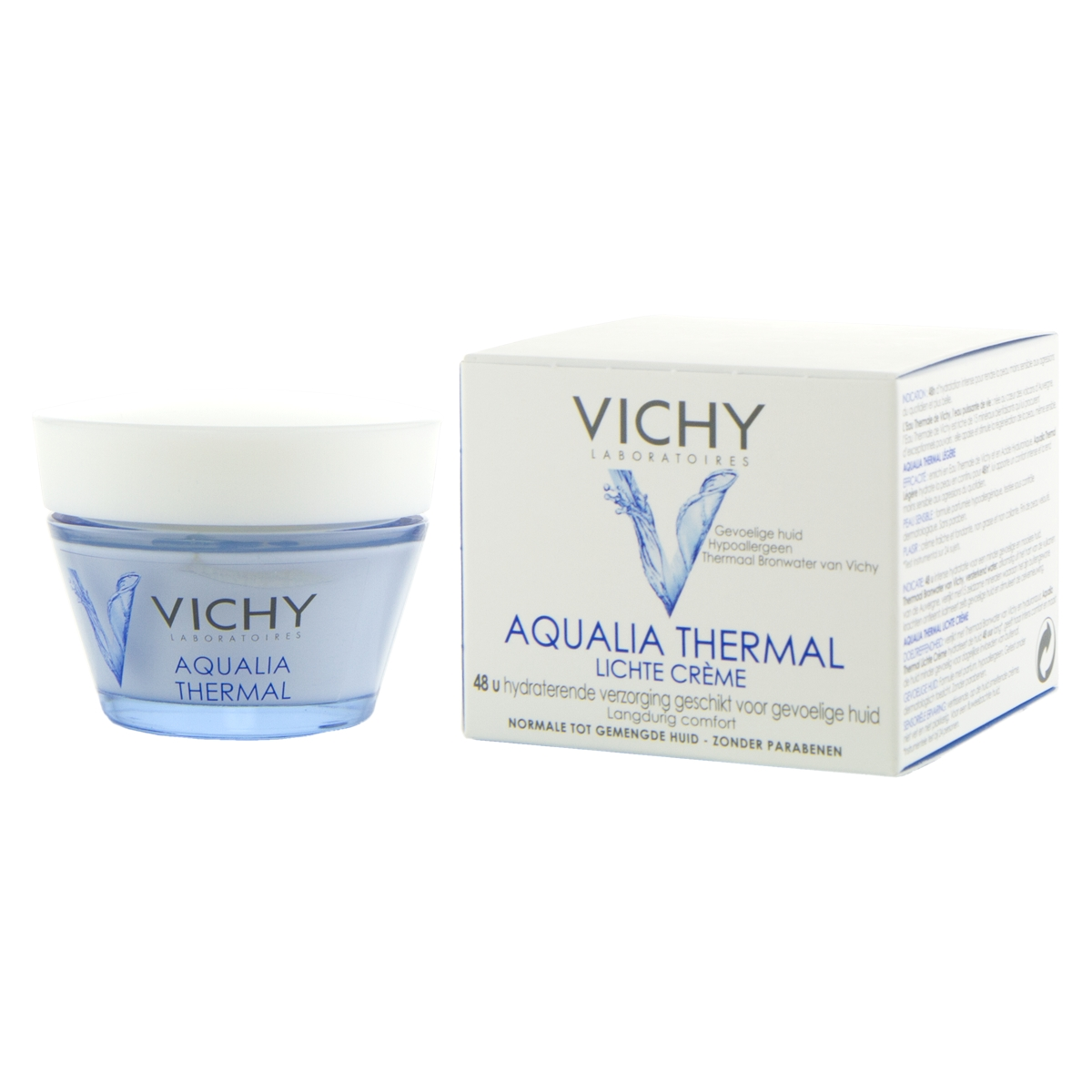 Vichy Aqualia Thermal Legere posilující a zklidňující 24hodinová péče 50ml