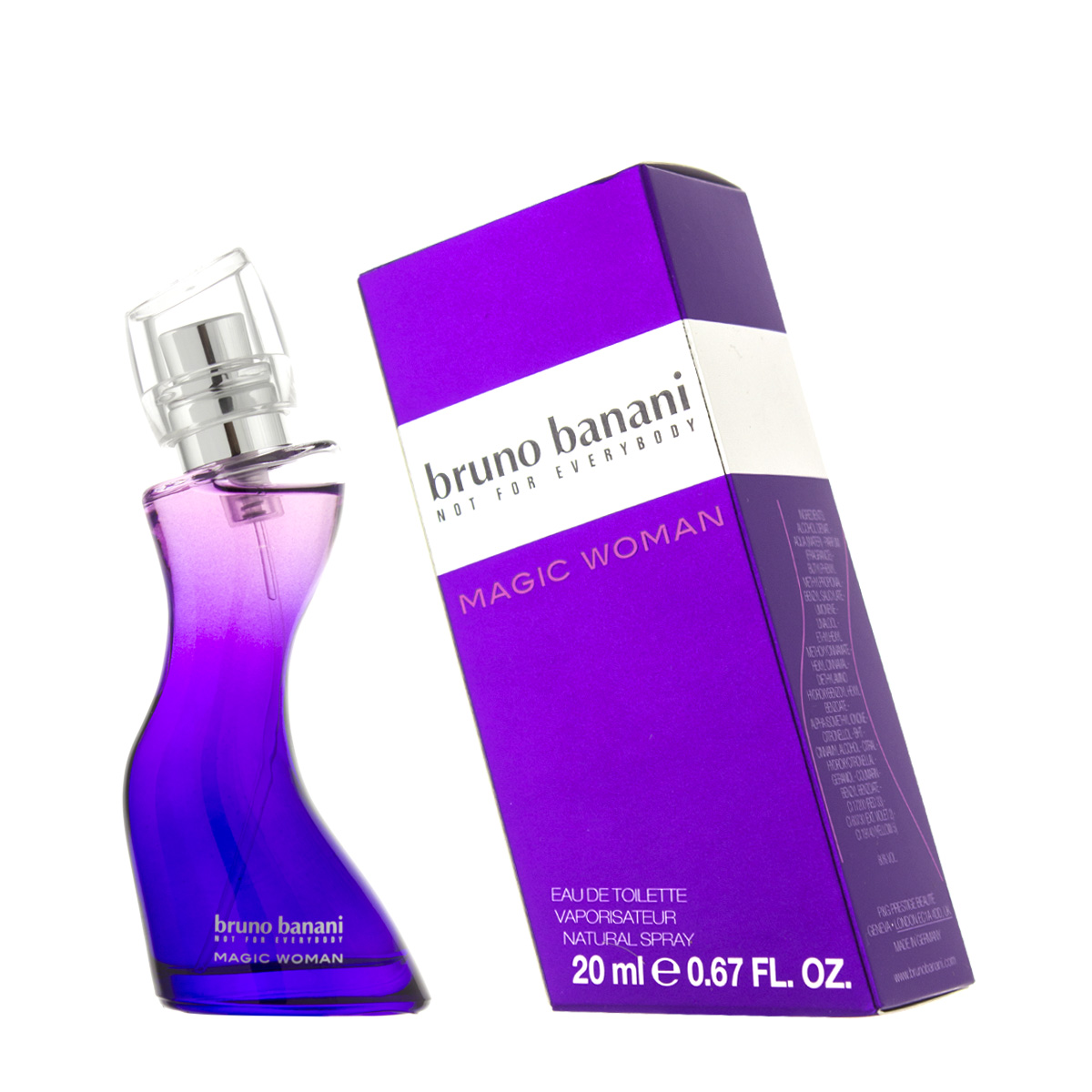 Bruno Banani Magic Woman EDT 20 ml W