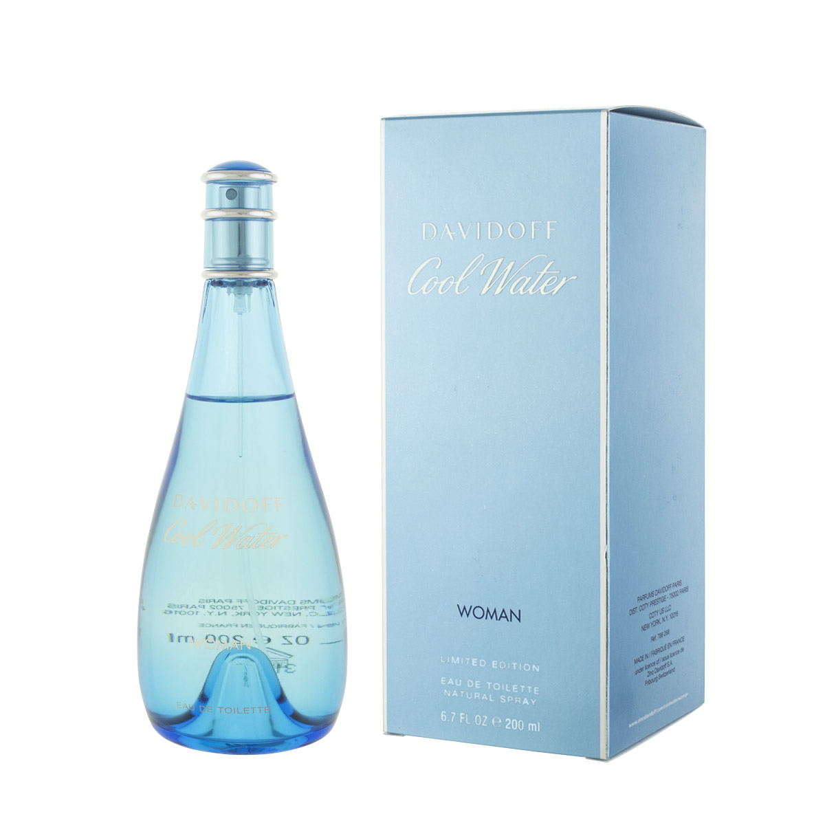 Davidoff Cool Water for Women EDT 200 ml W