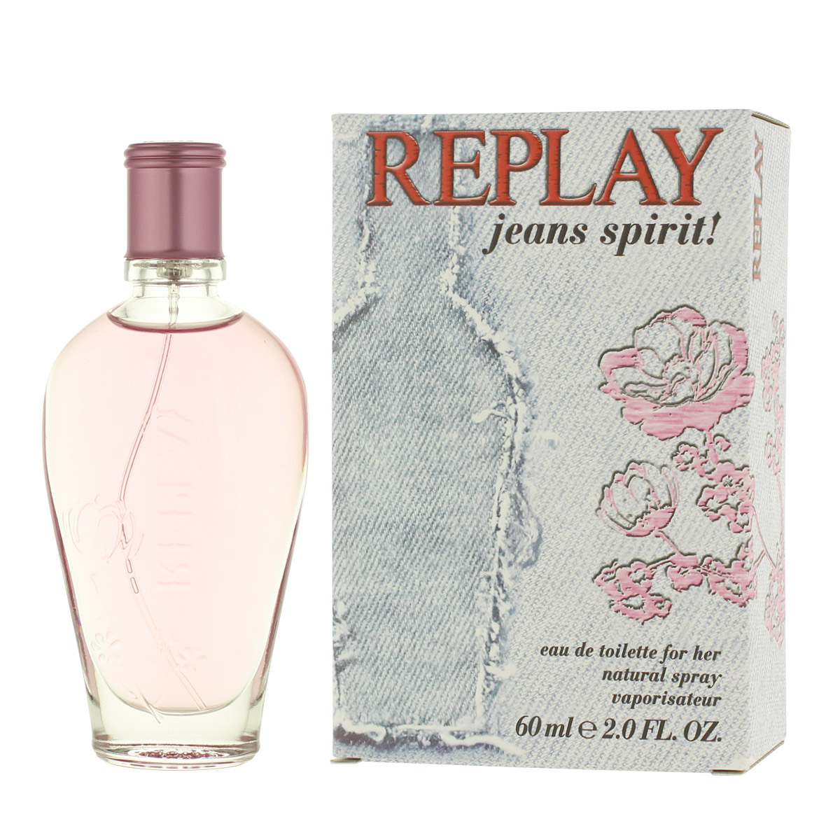 Replay Jeans Spirit! for Her EDT 60 ml W