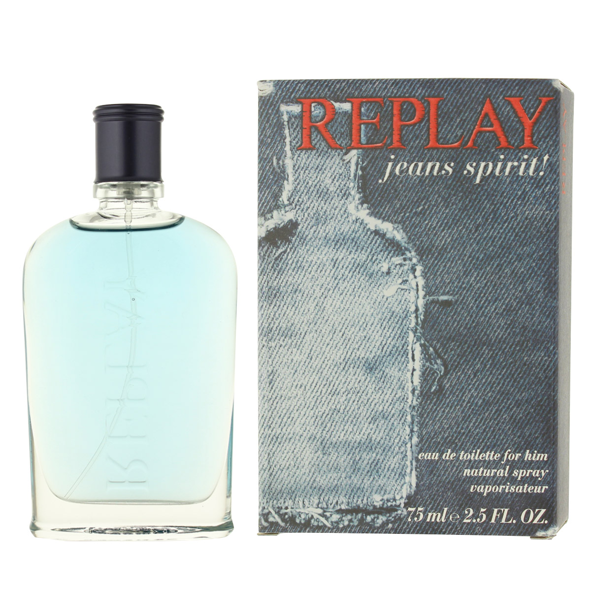 Replay Jeans Spirit! for Him EDT 75 ml M