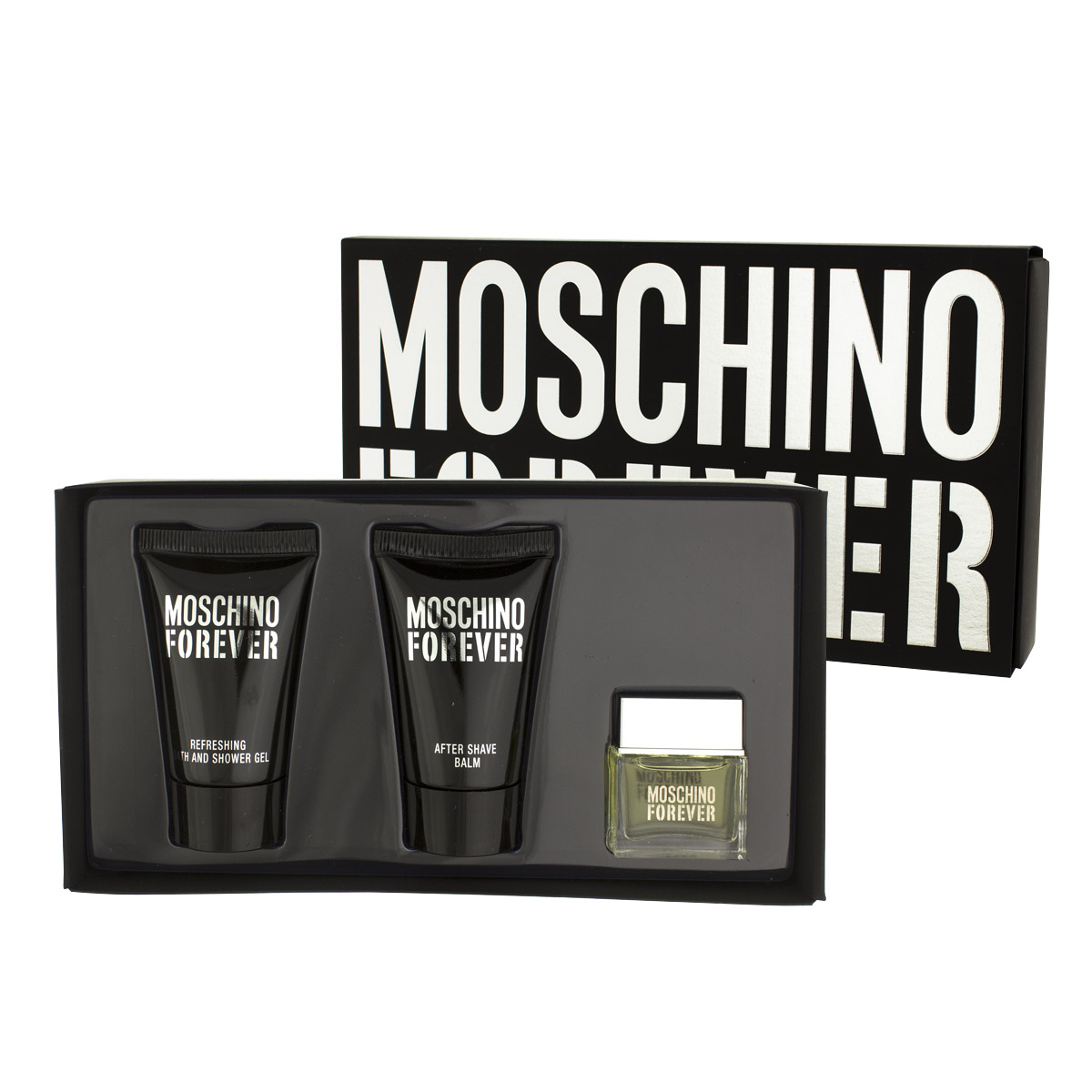 Moschino Forever EDT MINI 4,5 ml + ASB 25 ml + SG 25 ml M