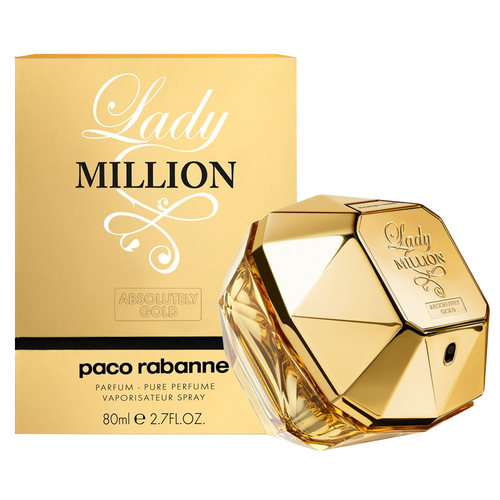 Paco Rabanne Lady Million Absolutely Gold Parfém tester 80 ml W
