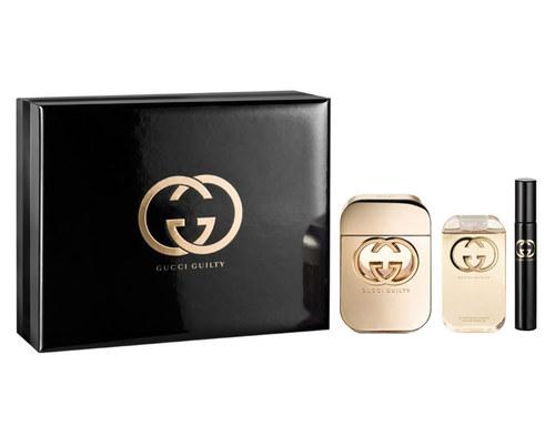 Gucci Guilty Pour Femme EDT 75 ml + EDT MINI 7,4 ml + SG 100 ml W