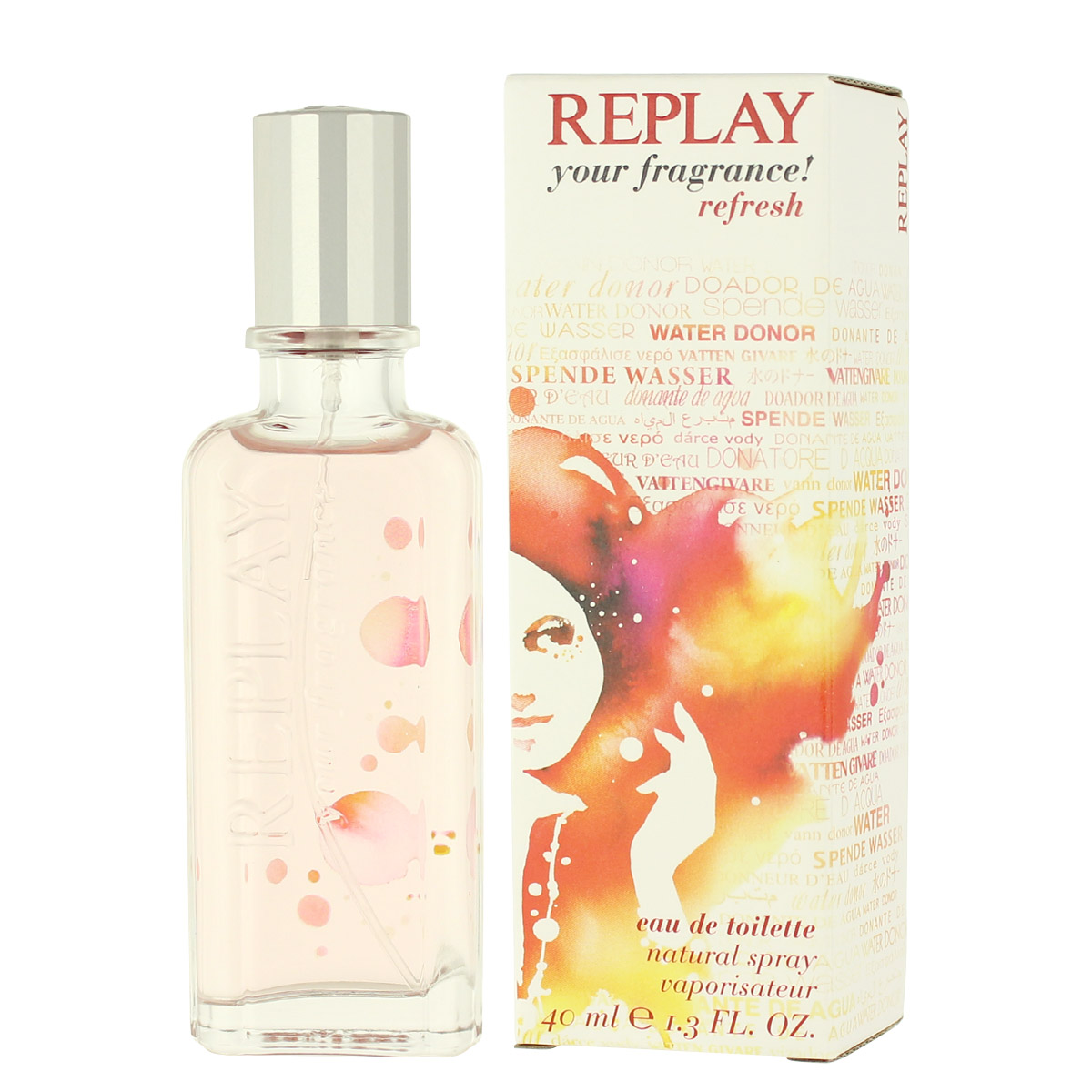 Replay your fragrance! Refresh EDT 40 ml W