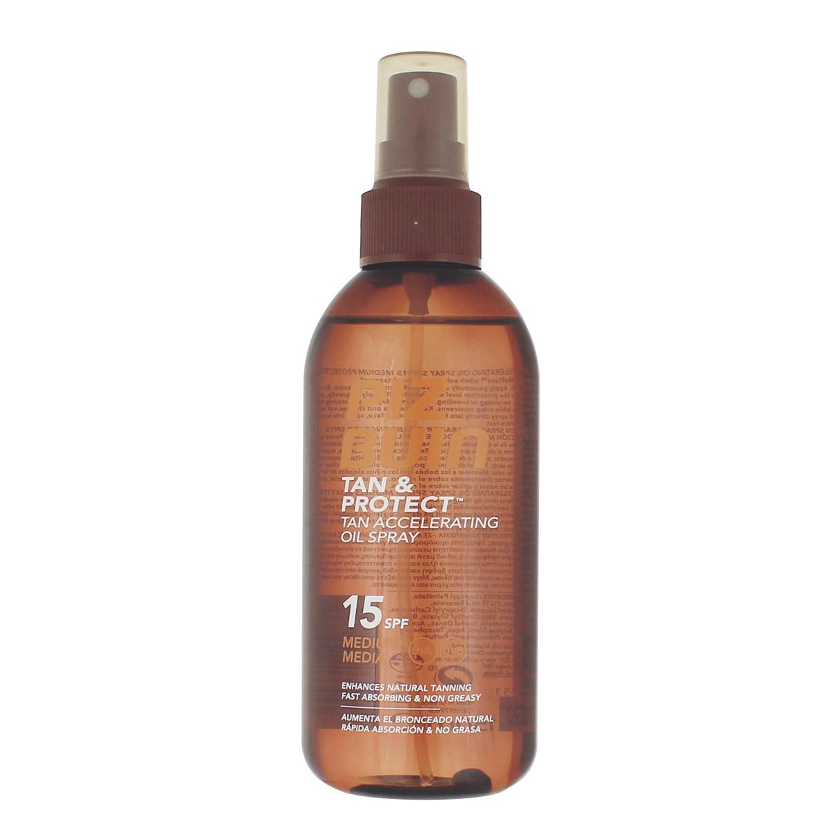 PizBuin Tan & Protect Tan Accelerating Oil Spray SPF 15 150 ml