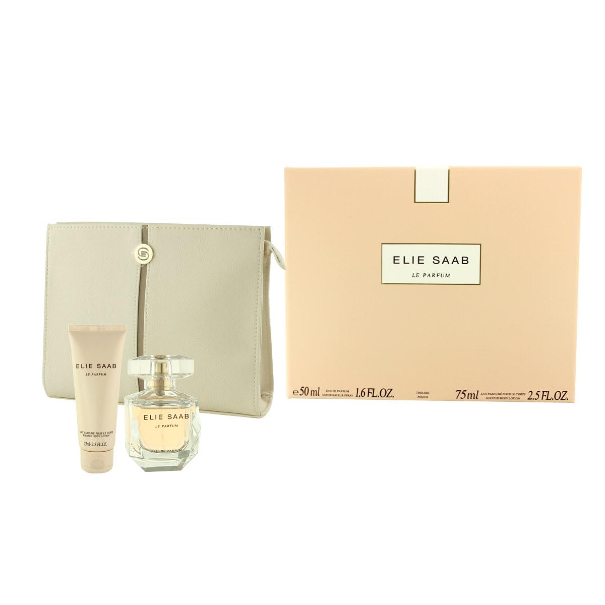 Elie Saab Le Parfum EDP 50 ml + BL 75 ml + kabelka W