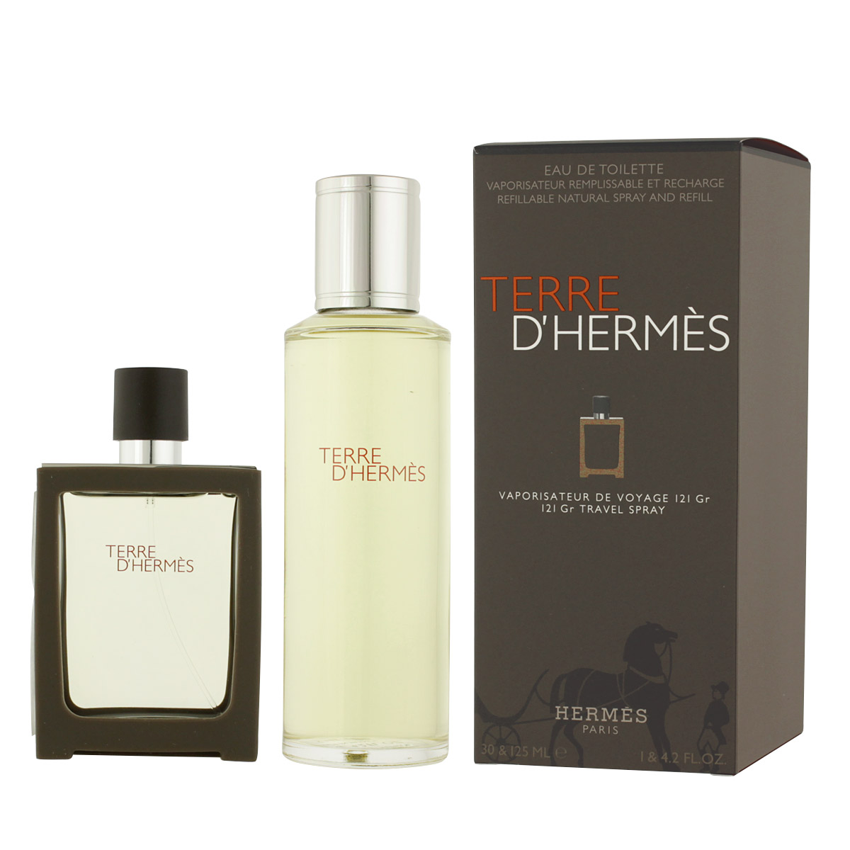 Hermès Terre D'Hermès EDT 30 ml + EDT náplň 125 ml M