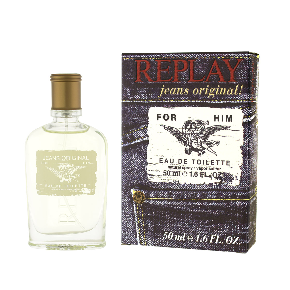 Replay Jeans Original for Him EDT 50 ml M