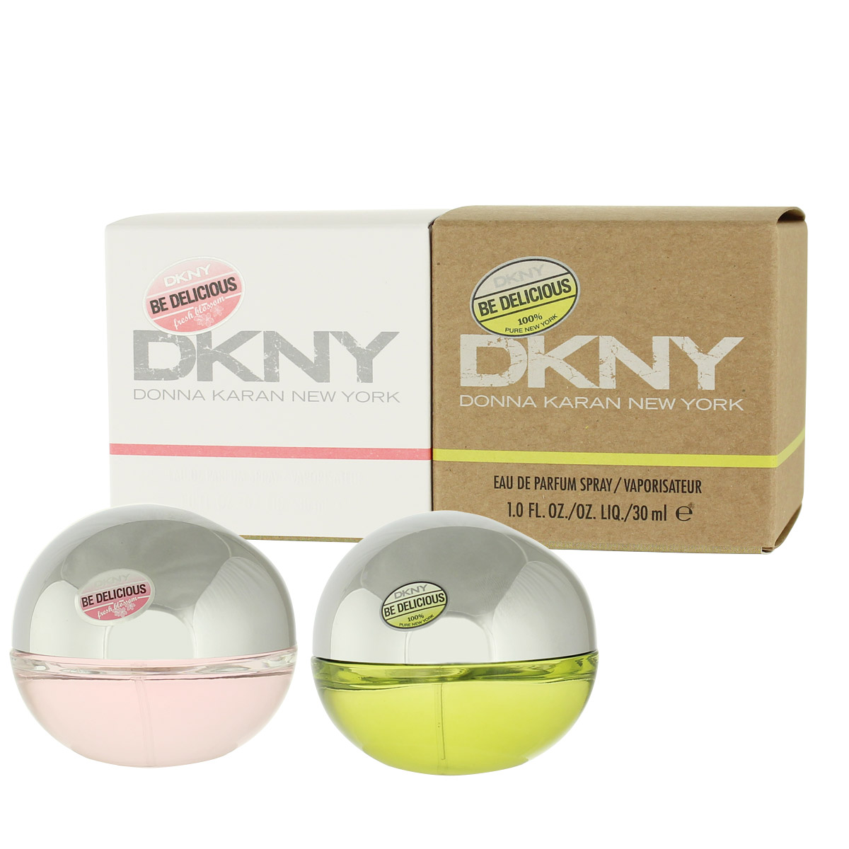DKNY Donna Karan Be Delicious EDP 30 ml + EDP 30 ml Be Delicious Fresh Blossom W