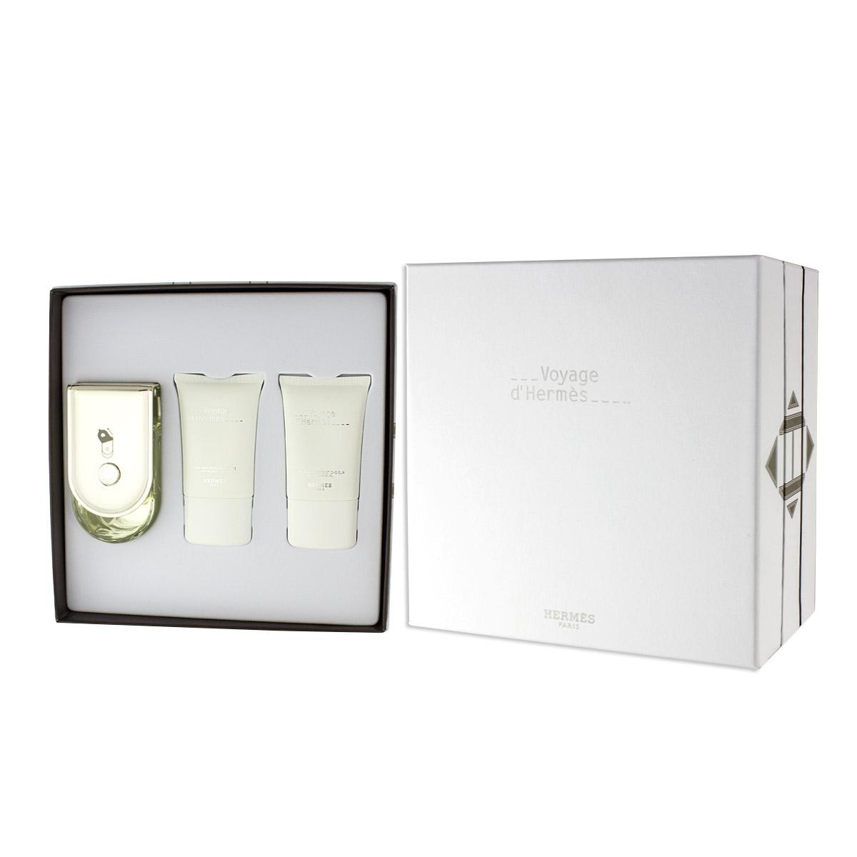 Hermès Voyage D'Hermès EDT 100 ml + SG 30 ml + BL 30 ml UNISEX