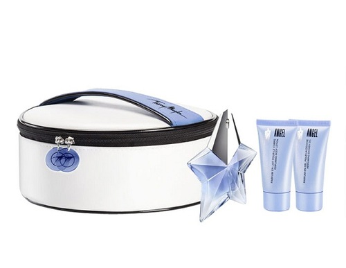 Thierry Mugler Angel EDP 25 ml + SG 30 ml + BL 30 ml + kosmetická taška W