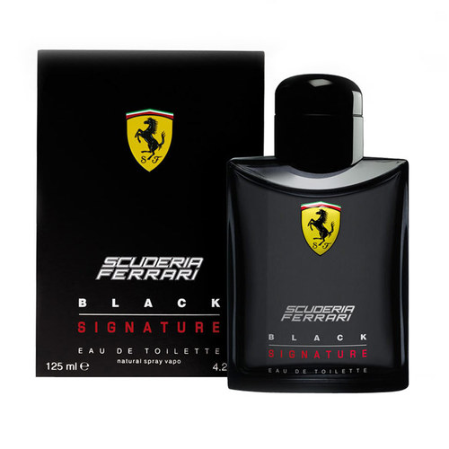 Ferrari Scuderia Black Signature EDT tester 125 ml M