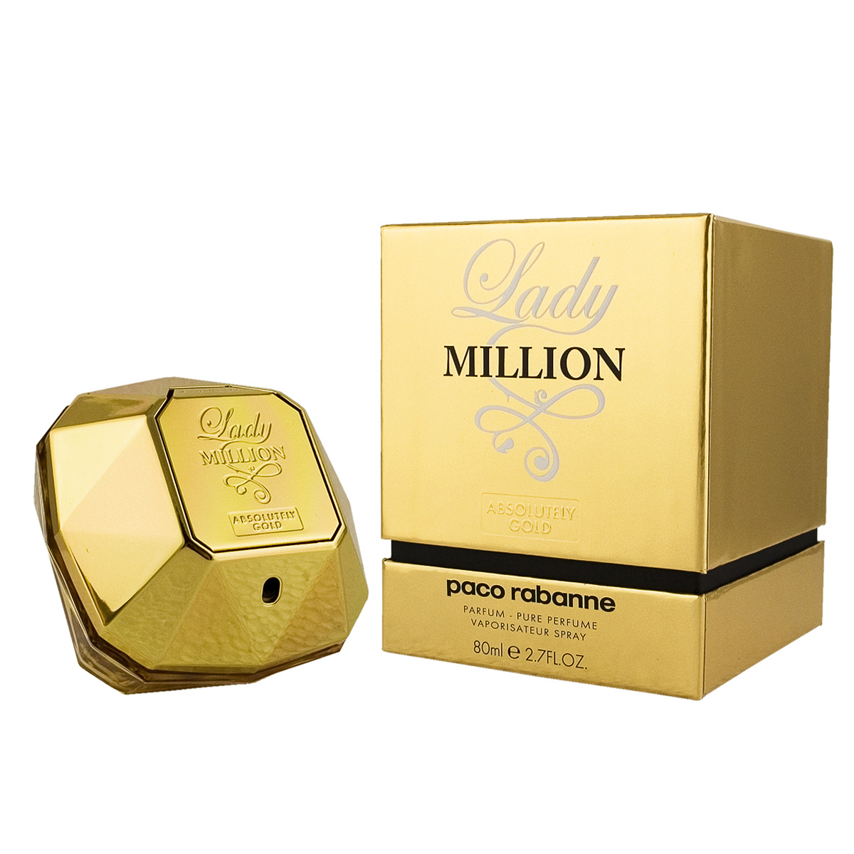 Paco Rabanne Lady Million Absolutely Gold Parfum 80 ml W