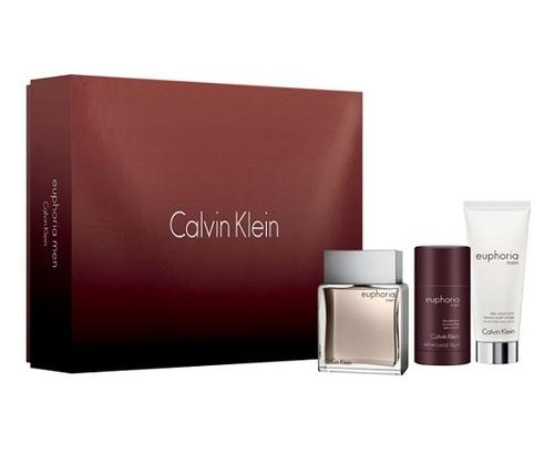 Calvin Klein Euphoria for Men EDT 100 ml + ASB 100 ml + DST 75 ml M