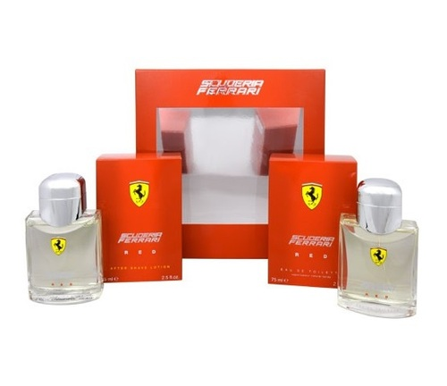 Ferrari Red EDT 75 ml + AS 75 ml M