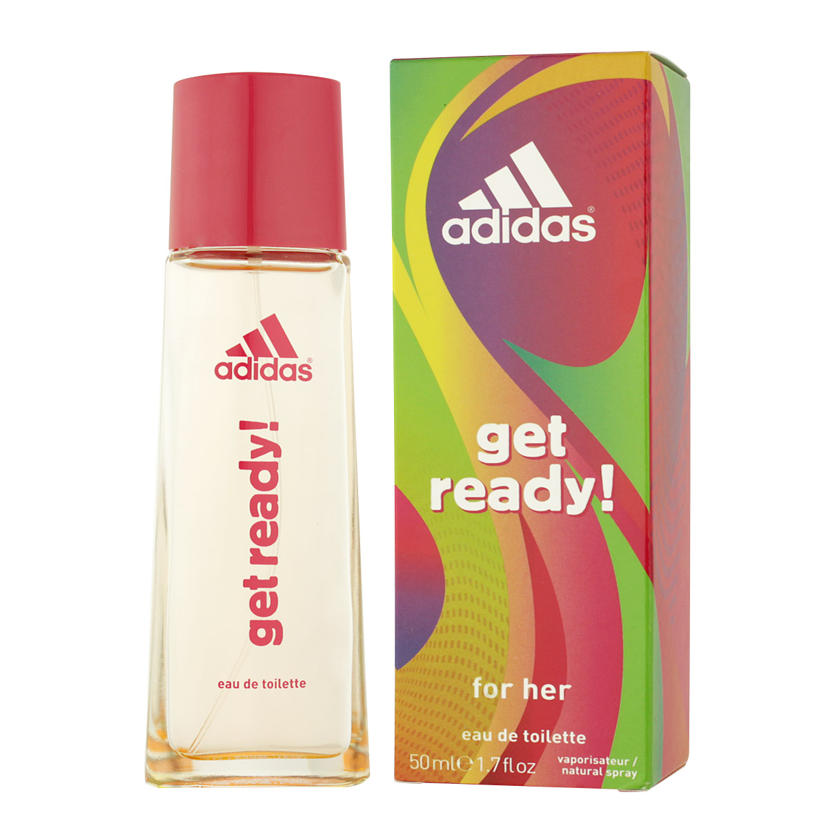 Adidas Get Ready! For Her EDT 50 ml W