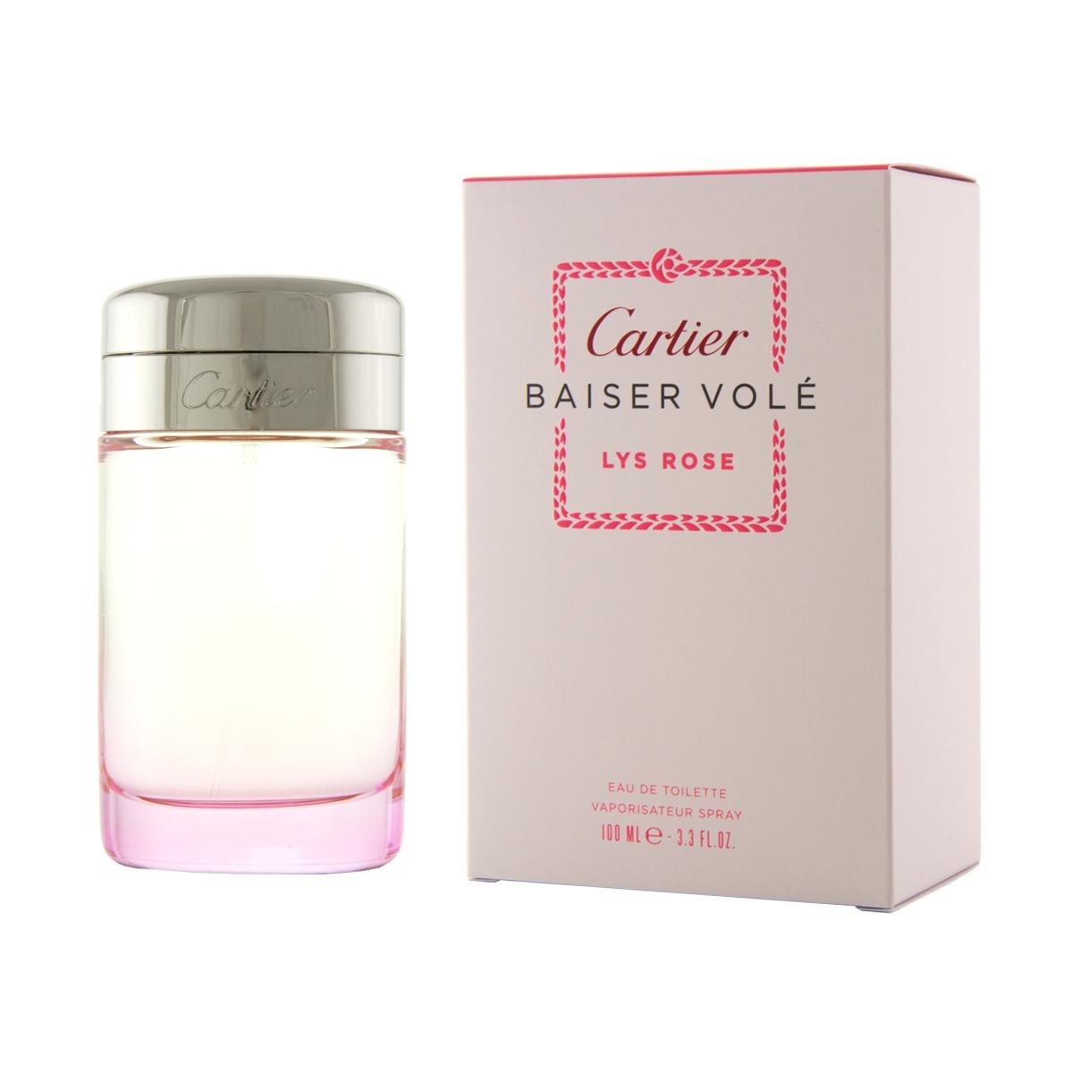 Cartier Baiser Volé Lys Rose EDT 100 ml W
