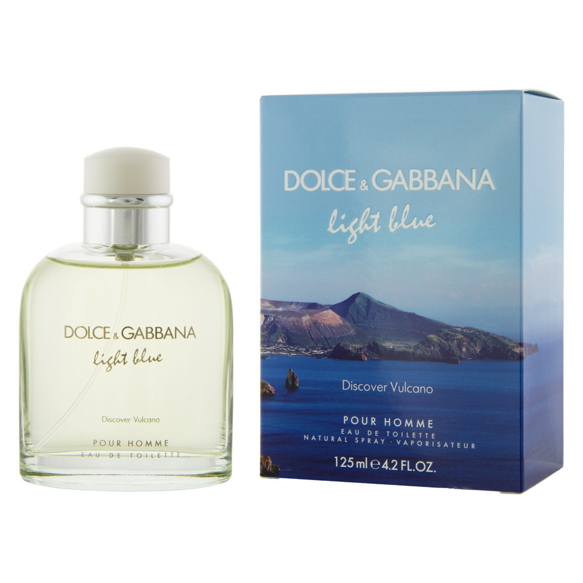 Dolce & Gabbana Light Blue Discover Vulcano EDT 125 ml M