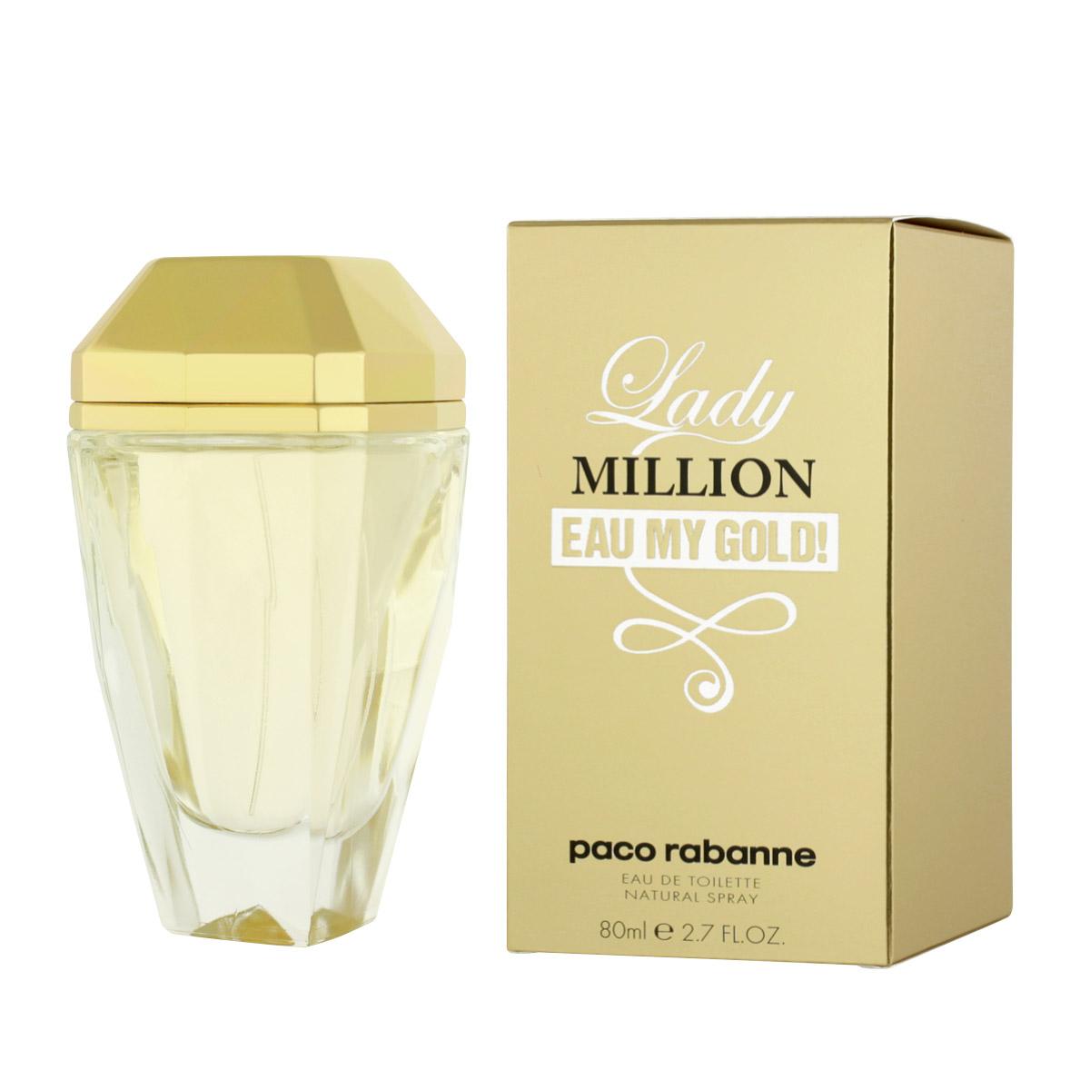 Paco Rabanne Lady Million Eau My Gold! EDT 80 ml W