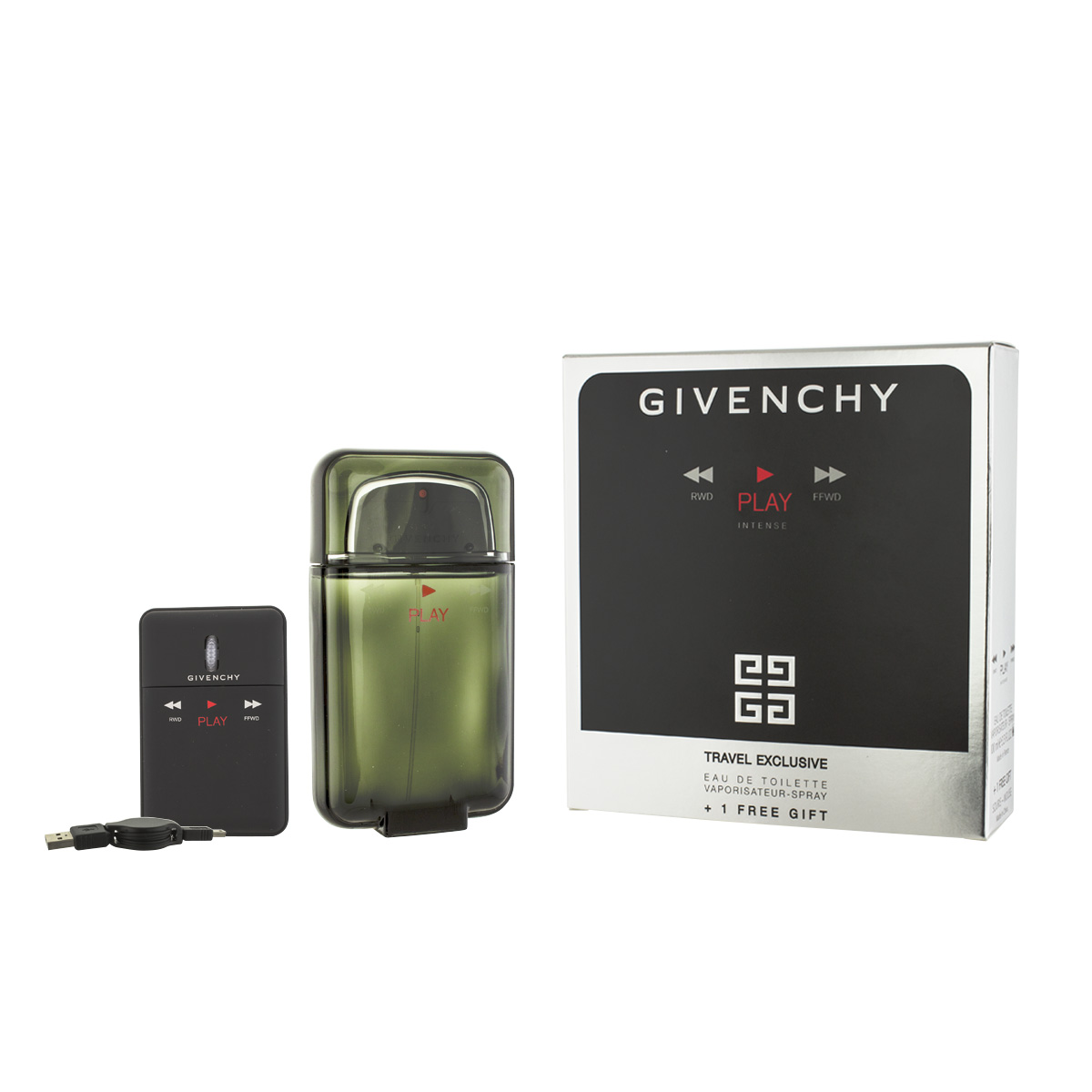 Givenchy Play Intense for Men EDT 100 ml + USB myš M